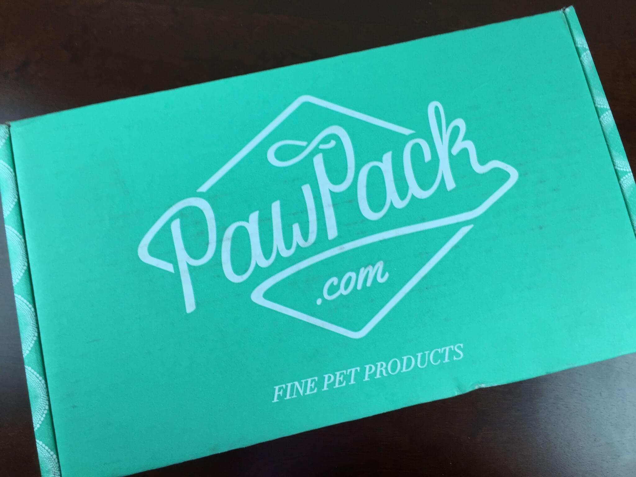 Paw Pack Box Blog