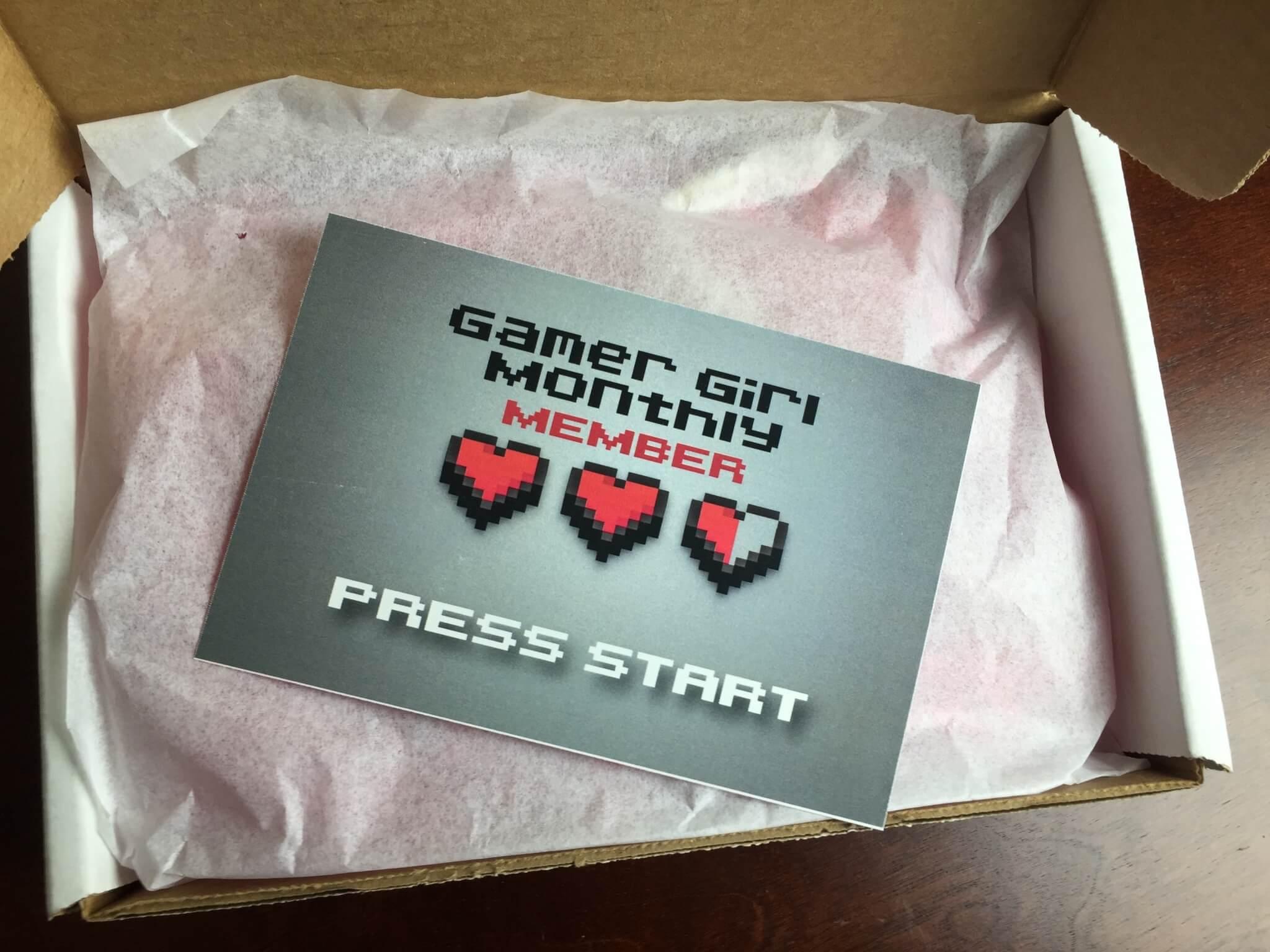 Gamer Girl Box Blog