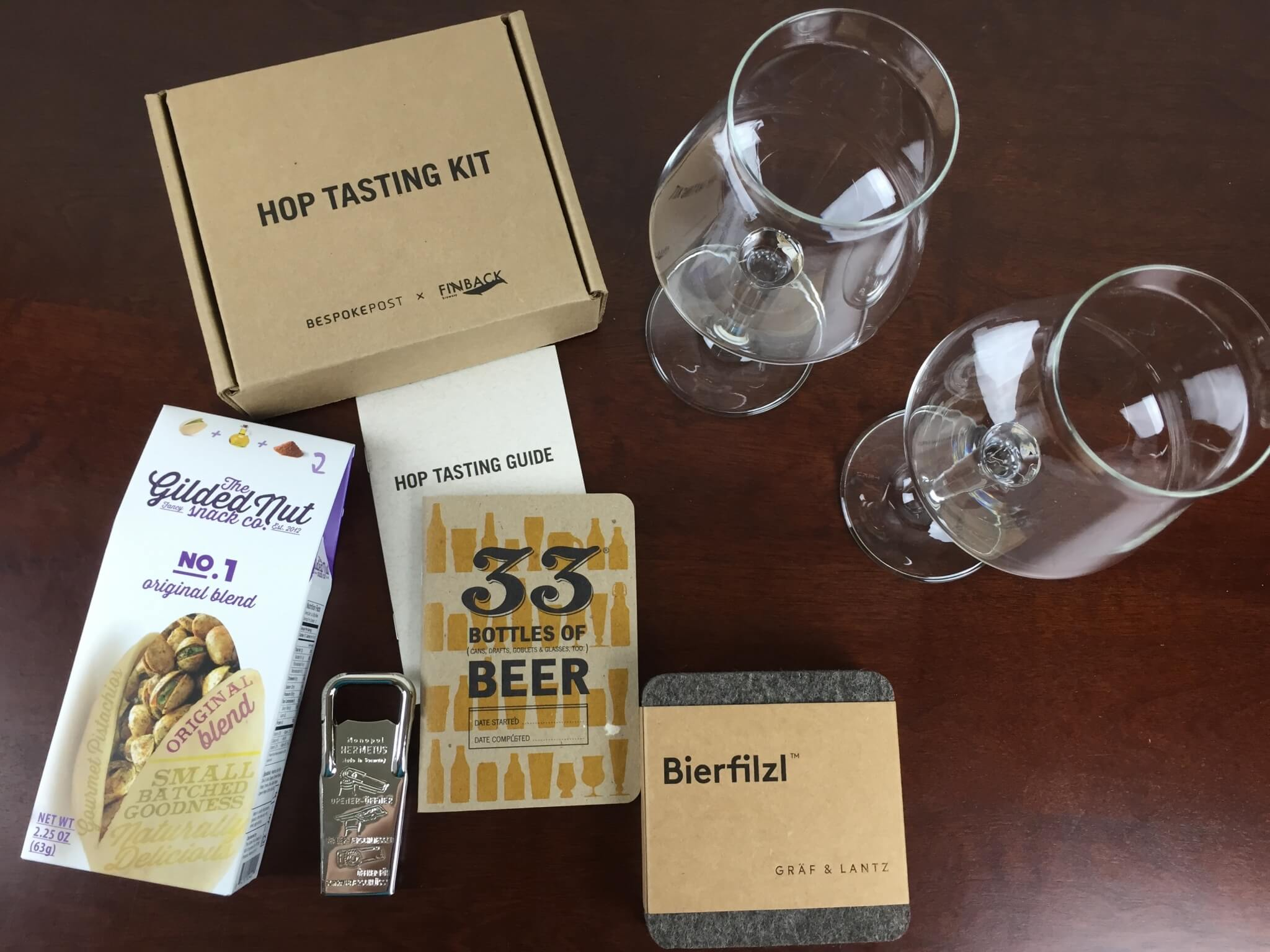 Bespoke Post CHEERS Box Review & Coupon - July 2015