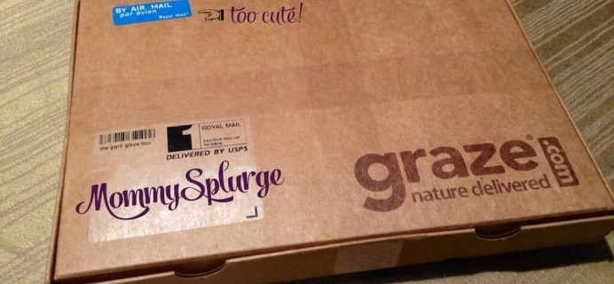 First Graze Box In… and It's a HUGE hit with the kids!!