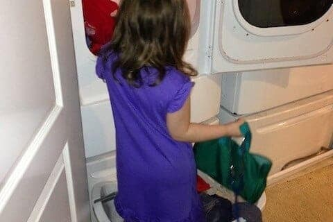 A new way to empty the dryer