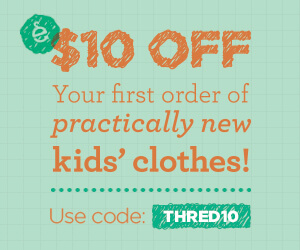 Get $10 off your first order. Use code: THRED10