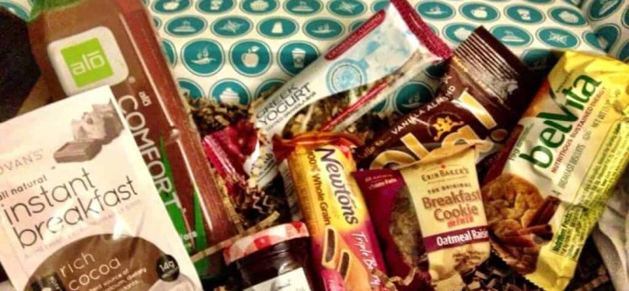 March Goodies Box Review: Rise & Shine