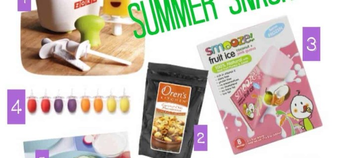 What I Want For… Summer Snacking!