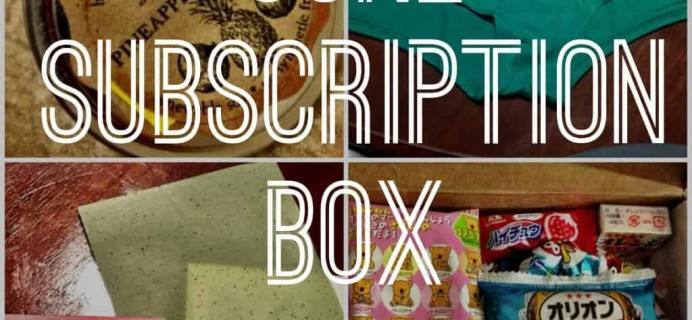 My Subscription Box Favorites for June