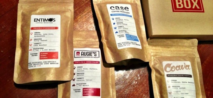 July Mistobox Review – Coffee Subscription