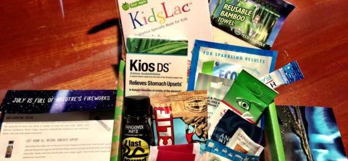 July Conscious Box Review – Green Subscription Box
