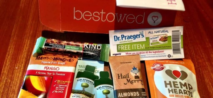 Bestowed Monthly Subscription Box Review – Nutritionist Approved!
