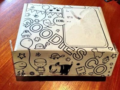 goodiesbox kids outside of box