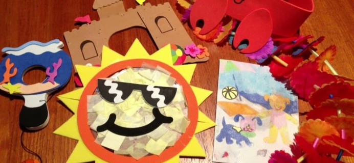 Carefree Crafts – Kids Subscription – August Review