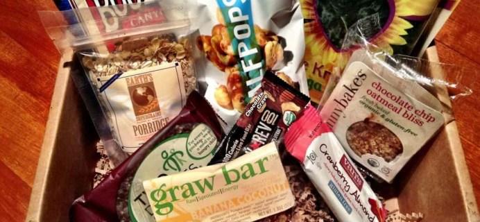Blissmo Box Subscription Review – Organic & Eco-Friendly – August 2013 Bites Box