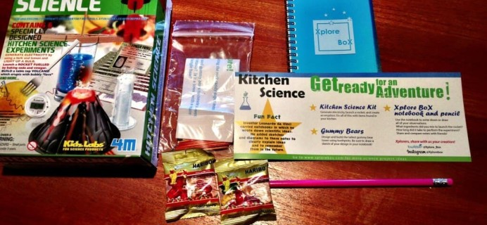 August Xplore Box Review – Kids Subscription Full of Science Fun!