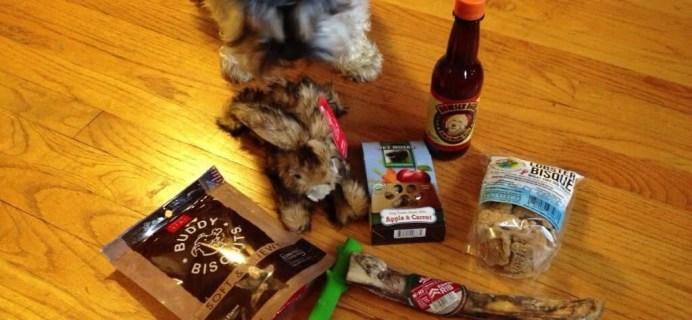 September WoofWagPlay Review & Coupon – Dog Subscription Box