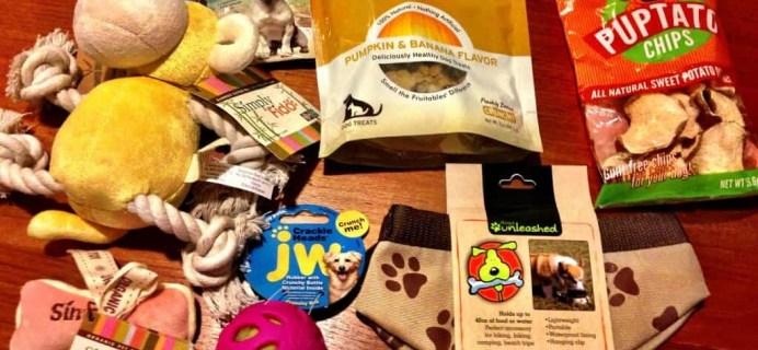 September Kasten Pets Review – Dog Subscription Box