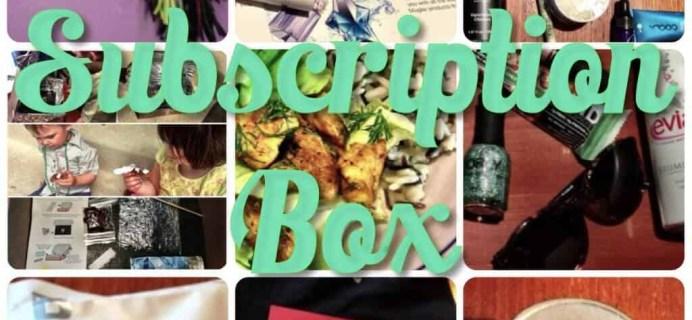 August Subscription Box Favorites