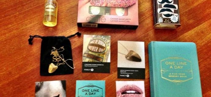 August Jennifer Love Hewitt Fancy Box Review