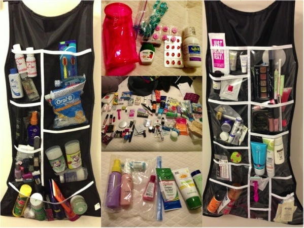 organizing your hotel room
