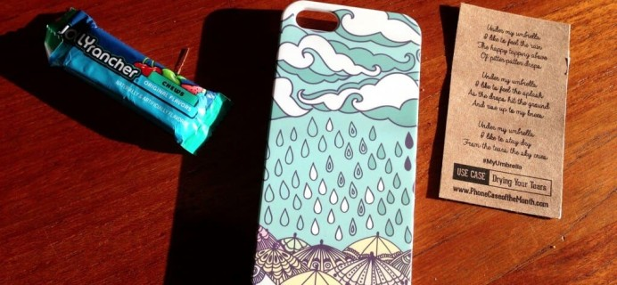 October Phone Case of the Month Review