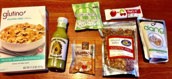 October Taste Guru Review – Gluten-Free Subscription Box