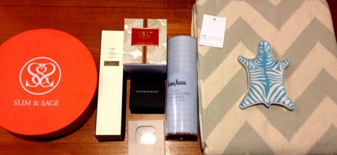 Neiman Marcus Popsugar Must Have Box Review