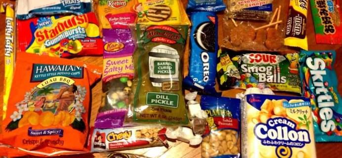 November MunchPak Review & Coupon – Snacks + Candy Subscription Box!