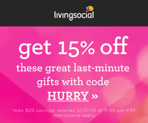 Living Social 15% off – Save on Glossybox, Elizabeth & Clarke, and Magic School Bus Vouchers!