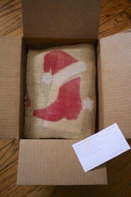 Bourbon & Boots December Box - Burlap Covering