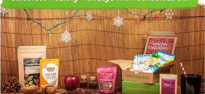 Special Edition Holiday Conscious Box + Coupon