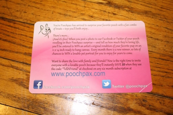 PoochPax Contest