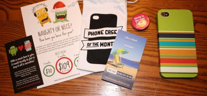 December Phone Case of the Month Review #pcotm #sunsoaked
