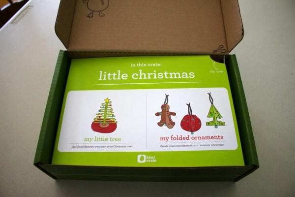 My Little Christmas Kiwi Crate Holiday Box