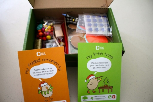 Kiwi Crate Holiday Box - My Little Christmas