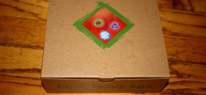 December Conscious Box Review + Coupons