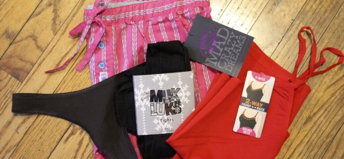 January Wantable Intimates Subscription Box Review