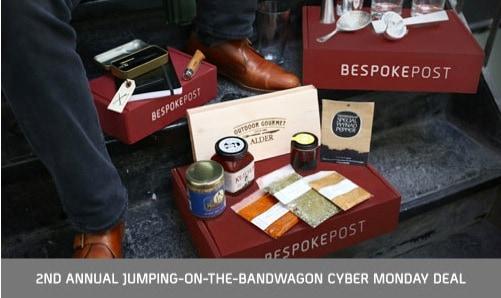 Bespoke Post Cyber Monday Coupon