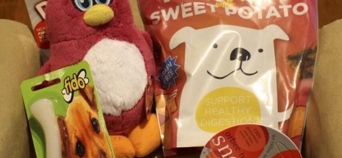 Dr. D's Pet Packages Review: December 2013 – Pet Subscription Box