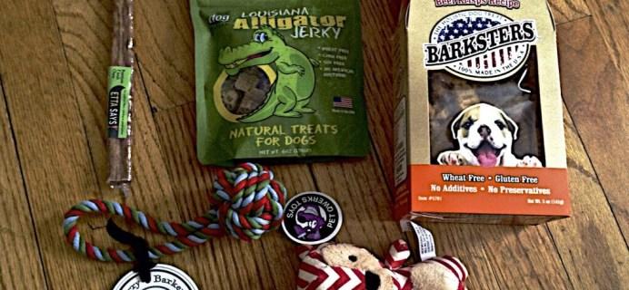 Barkbox Coupon & Review – January 2014 – Dog Subscription Box