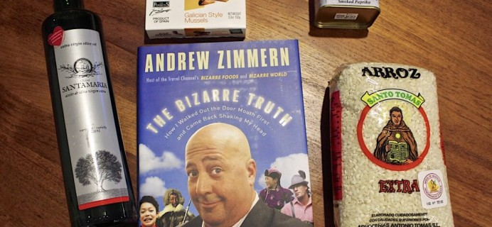 Andrew Zimmern #ZIM01 Quarterly Subscription Box Review