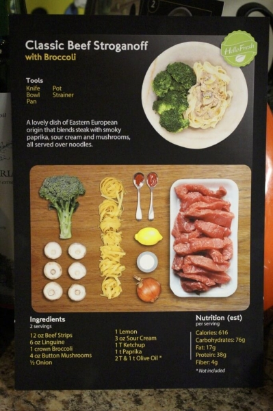 Classic Beef Stroganoff with Broccoli - Recipe
