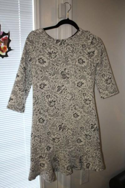 Renee C. Brocade Dress
