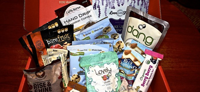 January 2014 Love With Food Regular vs. Deluxe Box Review + $10 Coupon