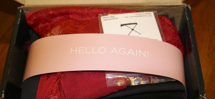 Wantable Intimates Subscription Box Review – February 2014