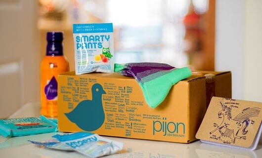 PijonBox Subscription Box for College Students – Deal on Living Social