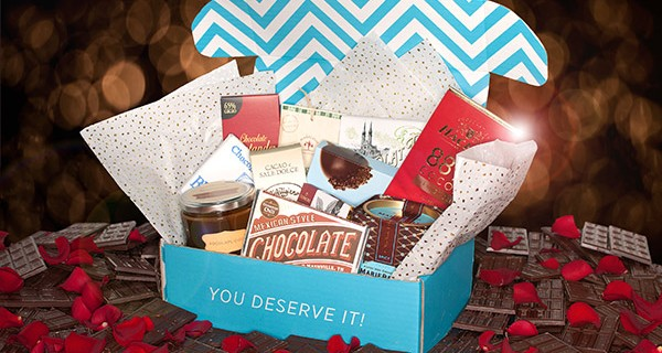 Valentine's Day Box! Escape Monthly Chocolates of the World Box