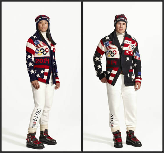 Team USA Olympic Uniforms - Opening Ceremony
