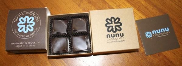 Nunu Chocolates South African Amarula Ganache