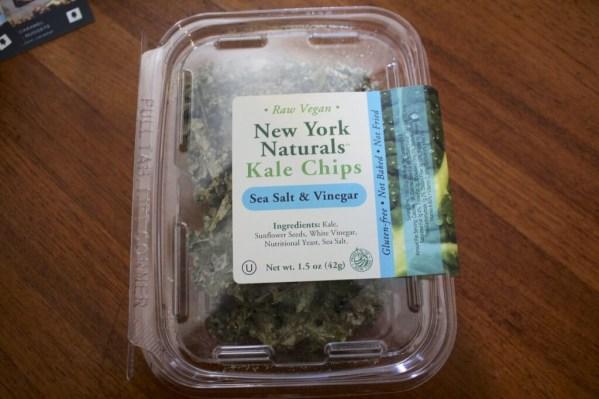 New York Naturals Kale Chips - Sea Salt & Vinegar