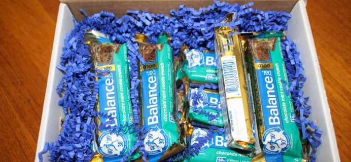 Celebrate Chocolate Mint Day with Balance Bar + Giveaway!