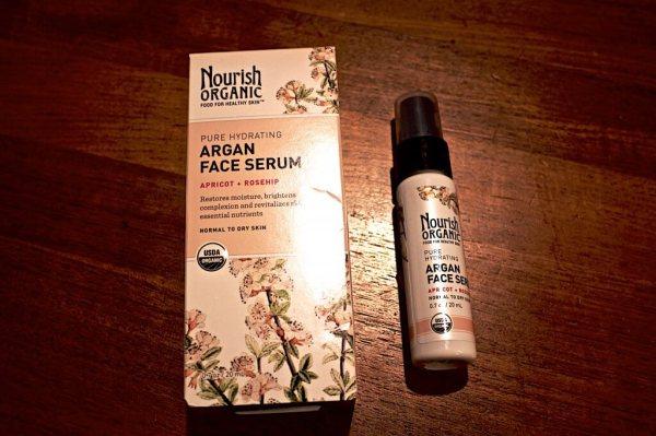 Nourish Organic Argan Face Serum