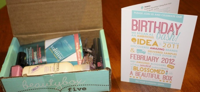 February 2014 Beauty Box 5 Review
